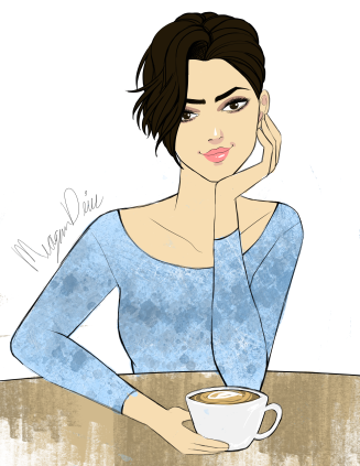 coffee-girl